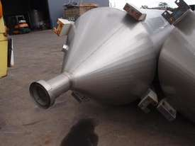Powder Hopper Stainless Steel Capacity 5Cu Mtr - picture1' - Click to enlarge