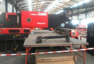 Amada Pega 367. Very good condition with tooling. 1999. 04PC, 45/4