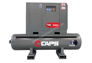 CAPS 34cfm Rotary Screw Air Compressor 10bar, 7.5kW, 500L Tank