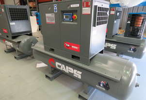 CAPS Brumby CR7-10-500 10bar 7.5kW 34cfm Rotary Screw Air Compressor with 500L Receiver Tank