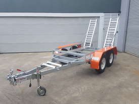 Galvanised Plant Trailer 2200kg ATM - picture0' - Click to enlarge