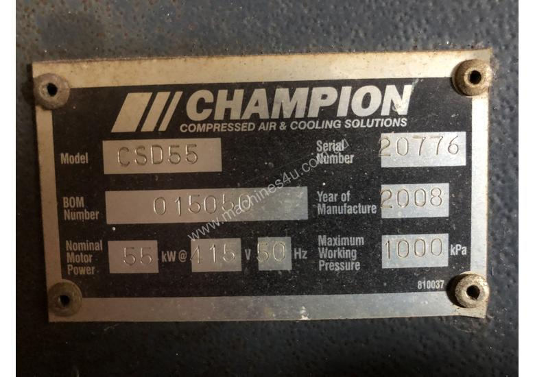 Champion Screw Compressor