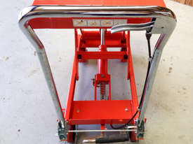 300kg Hydraulic scissor lift table/trolley - picture2' - Click to enlarge