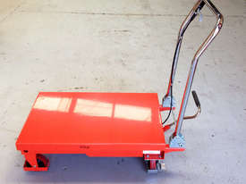 300kg Hydraulic scissor lift table/trolley - picture4' - Click to enlarge
