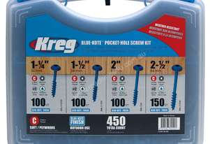 Kreg   Wood Blue-Kote Screw Kit