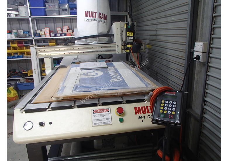 Multicam CNC Router 1200mmx1000mm Bed size