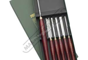 RPCHS6-SS HSS Spindle and Bowl Wood Turning Tools - 6 Piece Set  Essential Chisel Set