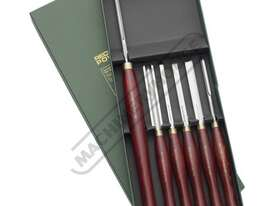 RPCHS6-SS HSS Spindle and Bowl Wood Turning Tools - 6 Piece Set  Essential Chisel Set - picture0' - Click to enlarge