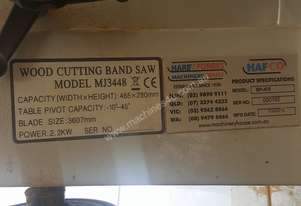 Hafco Used machine bansaw