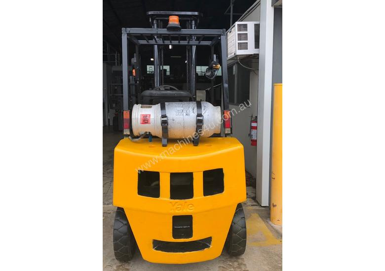 2.5T USED YALE LPG FORKLIFT TRUCK