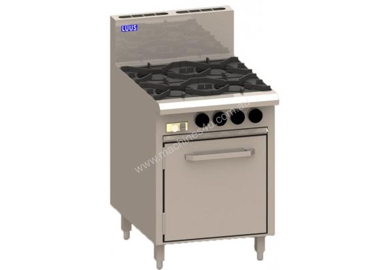 Luus CRO-2B3C 600mm Oven with 2 Burners & 300mm Chargrill Essentials Series