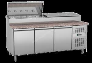 Exquisite MTC360H Sandwich Pizza Prep Bench Fridge