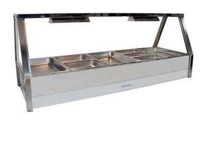 Roband E25RD Double Row Hot Food Display