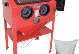 SB-200 Sandblasting Cabinet + Garnet Package Deal Recommended to be used with dust collector
