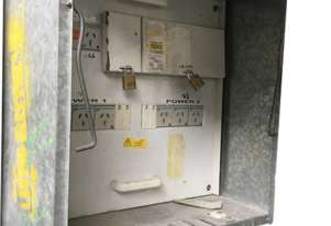 On Site Temporary Switchboard Electrical Box 7 x 240 Volt Outlets on Stand