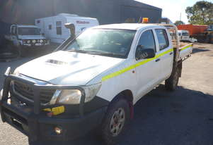 2012 Toyota Hilux (KUN26R) 4x4 Dual Cab Tray Back Utility - In Auction