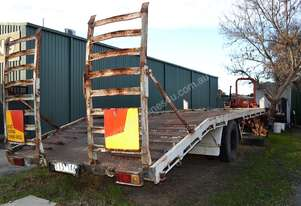 5.5 TON Single Axle Tag Trailer 20 X 8 FEET