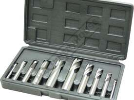 M3301 Metric HSS Slot Drill & End Mill Set - 10 Piece Ø6 - Ø20mm - picture0' - Click to enlarge