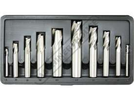 M3301 Metric HSS Slot Drill & End Mill Set - 10 Piece Ø6 - Ø20mm - picture2' - Click to enlarge
