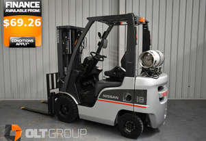 Second Hand Nissan P1F1A18DU 1.8 tonne used forklift