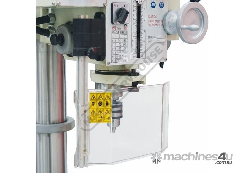 GHD-32 Industrial 4MT Geared Head Drilling Machine 40mm Drilling Capacity Includes Automatic Feed &