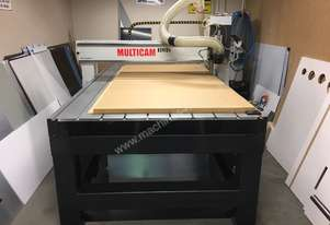 CNC ROUTING MACHINE, MULTICAM S2412V 2007