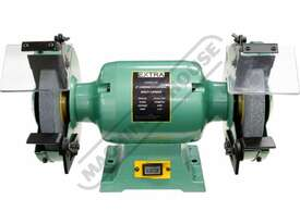 X8 Industrial Bench Grinder Ø200mm Fine & Coarse Wheels 0.75kW - 1HP Motor Power - picture4' - Click to enlarge