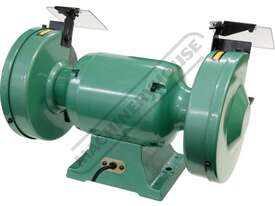 X8 Industrial Bench Grinder Ø200mm Fine & Coarse Wheels 0.75kW - 1HP Motor Power - picture5' - Click to enlarge