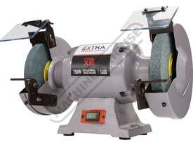 X8 Industrial Bench Grinder Ø200mm Fine & Coarse Wheels 0.75kW - 1HP Motor Power - picture2' - Click to enlarge