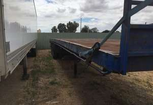 Ses   Semi Flat top Trailer