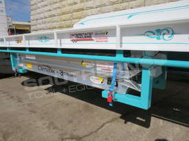 Interstate Trailers Tri Axle Tag Trailer kobelco Blue ATTTAG - picture7' - Click to enlarge