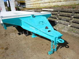 Interstate Trailers Tri Axle Tag Trailer kobelco Blue ATTTAG - picture8' - Click to enlarge