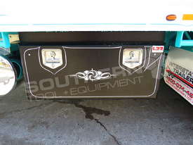 Interstate Trailers Tri Axle Tag Trailer kobelco Blue ATTTAG - picture16' - Click to enlarge