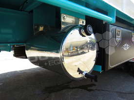 Interstate Trailers Tri Axle Tag Trailer kobelco Blue ATTTAG - picture17' - Click to enlarge