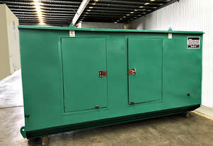 145kVA Used Cummins Enclosed Generator Set