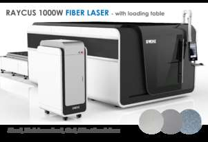 Fully enclosed Fiber laser with loading bed - 1000W+  - Delivery/installation included!