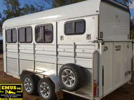 2013 Kings 3 x Horse Float, Angle Load, Kitchenette.  TS458 - picture2' - Click to enlarge