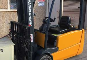 Jungheinrich  wheel electric forklift