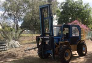 5.5T Omega (4.5m Lift) 4WD All Terrain, (Side-Shift) Aircon, Diesel 4415T-12MS Forklift