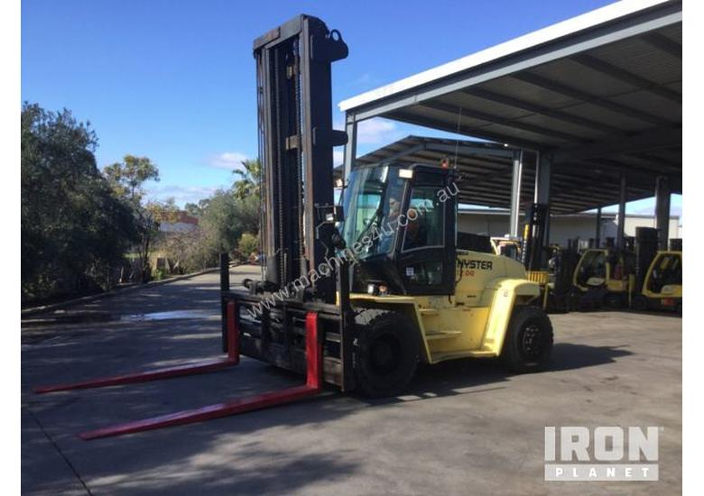 Used 2005 Hyster H12 00XM Counterbalance Forklift In