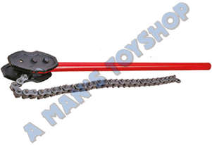 PIPE CHAIN WRENCH 150MM CAP 1000MM LONG