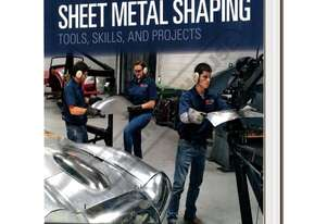 L3457 Sheet Metal Shaping Book - Tools, Skills & Projects 240 Colour Pages For Gearheads from Automo