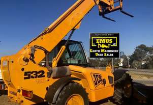 2003 JCB 532-120, 3.2ton lift, 12mtr height.  MS556A