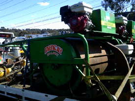 cricket pitch roller , hand guided , late model , 9hp hond  - picture1' - Click to enlarge