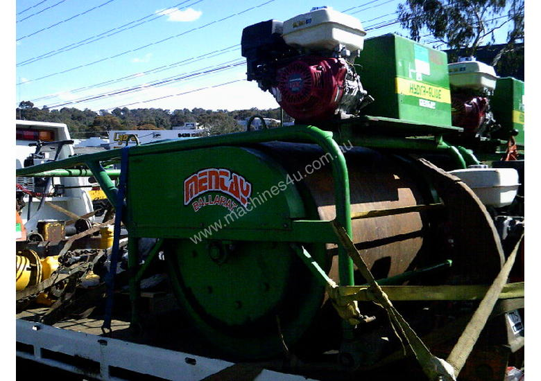 cricket pitch roller , hand guided , late model , 9hp hond