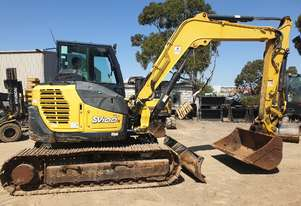 2014 YANMAR SV100-2B EXCAVATOR WITH 3455 HOURS