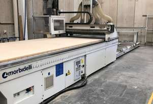 Morbidelli Universal 3618 Flat Bed cnc With Loader