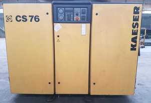Kaeser CS76 Rotary Screw Compressor