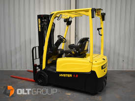 Hyster 3 Wheel Battery Electric Forklift 1.8 Tonne 4 Functions 2013 Model Container Mast 4.6m Lift - picture0' - Click to enlarge