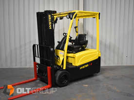 Hyster 3 Wheel Battery Electric Forklift 1.8 Tonne 4 Functions 2013 Model Container Mast 4.6m Lift - picture1' - Click to enlarge